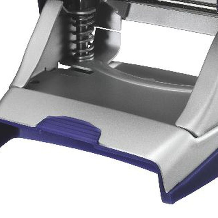 Leitz Metal 2 Hole Punch 30 Sheet Titan Blue, , hi-res