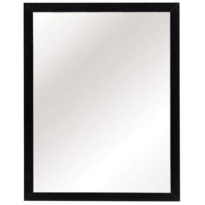Living & Co Mirror Everyday Black 30cm x 40cm