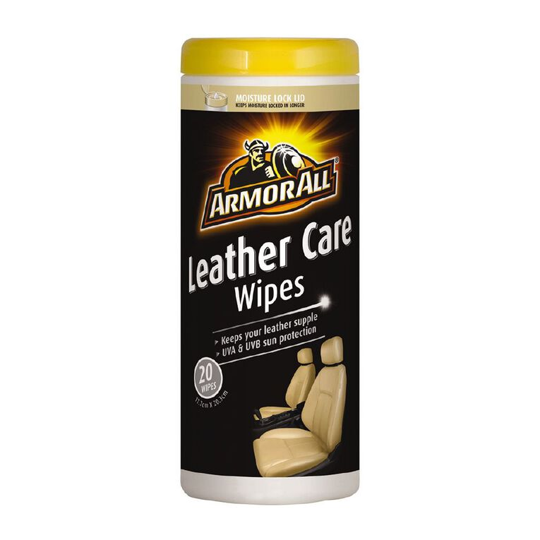 Armor All Leather Wipes 20 Pack, , hi-res