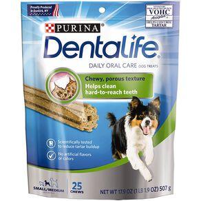 Purina Dentalife Dog Small/Medium Dog Value Pack 507g