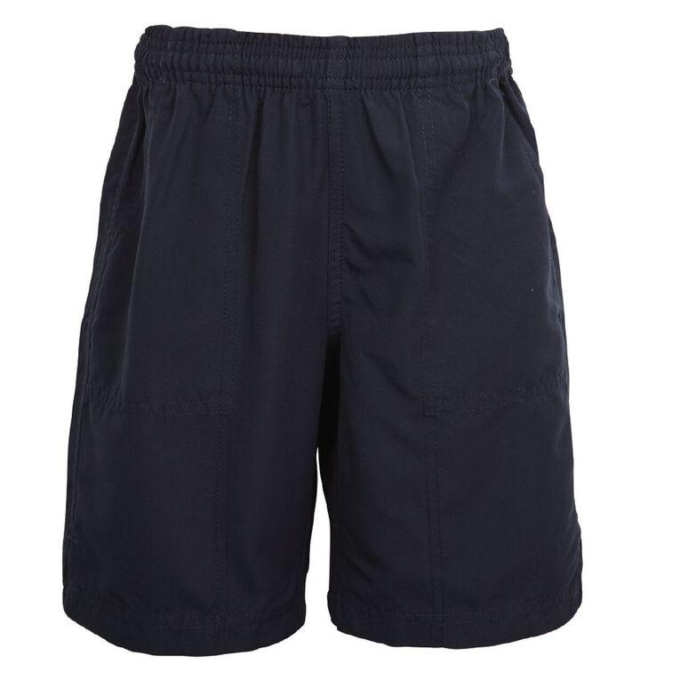 Schooltex Podium PE Shorts, Navy, hi-res
