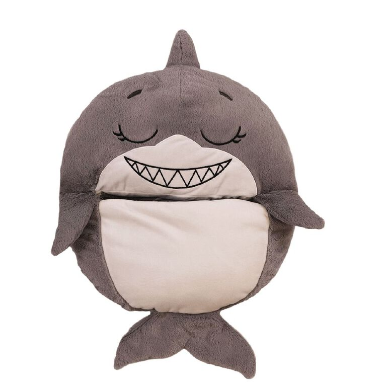 Happy Nappers Gray Shark Large 168cm, , hi-res