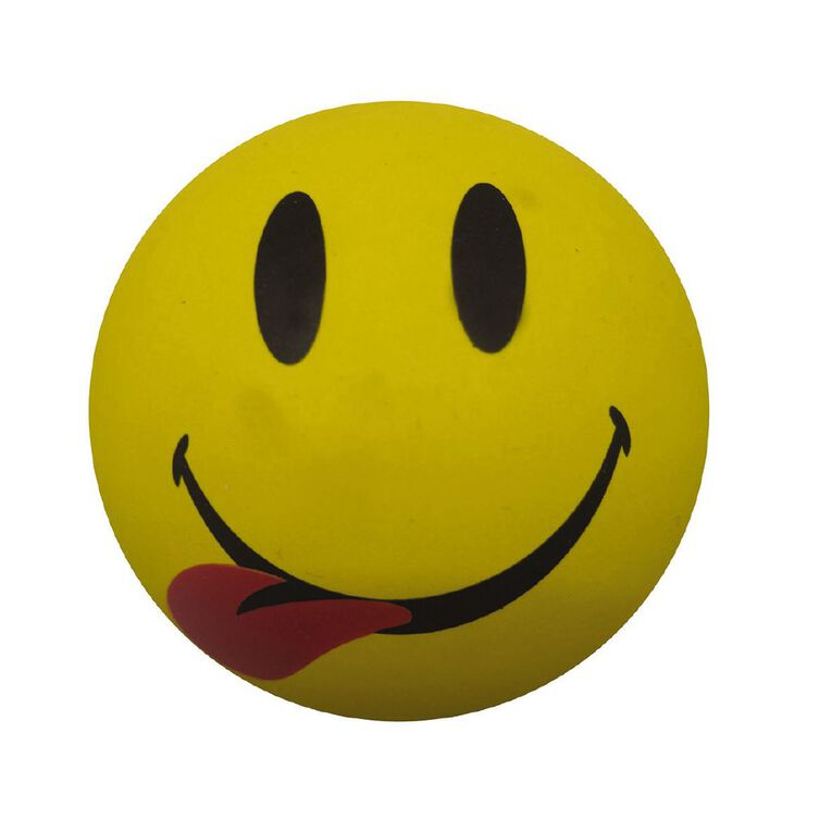 Active Intent Smileez High Bounce Ball Assorted, , hi-res