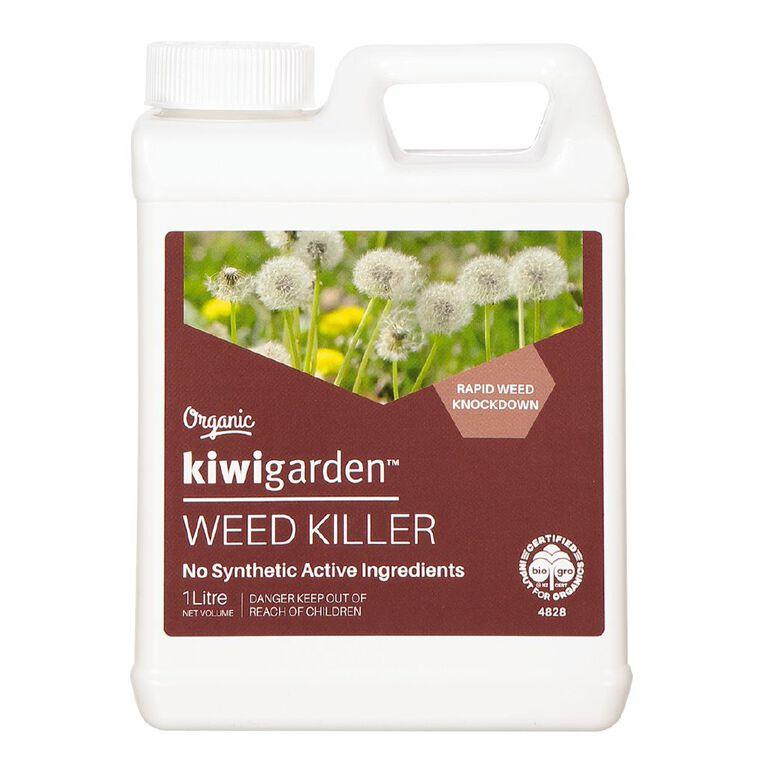 Kiwi Garden Organic Weed Killer 1L, , hi-res