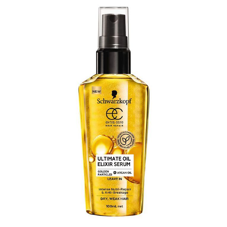Schwarzkopf Extra Care Ultimate Oil Elixir Serum 100ml, , hi-res