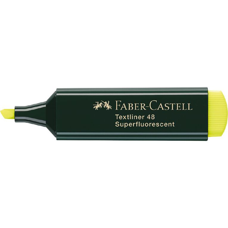 Faber-Castell Texliner Highlighter - Yellow, , hi-res