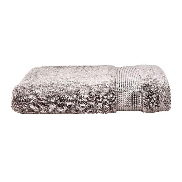 Living & Co Hotel Collection Hand Towel Grey Light 40cm x 65cm, Grey Light, hi-res