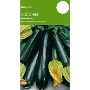 Kiwi Garden Zucchini Black Beauty