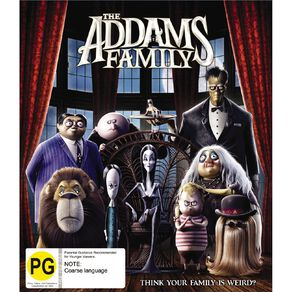 BR The Addams Family (2019) 1Disc