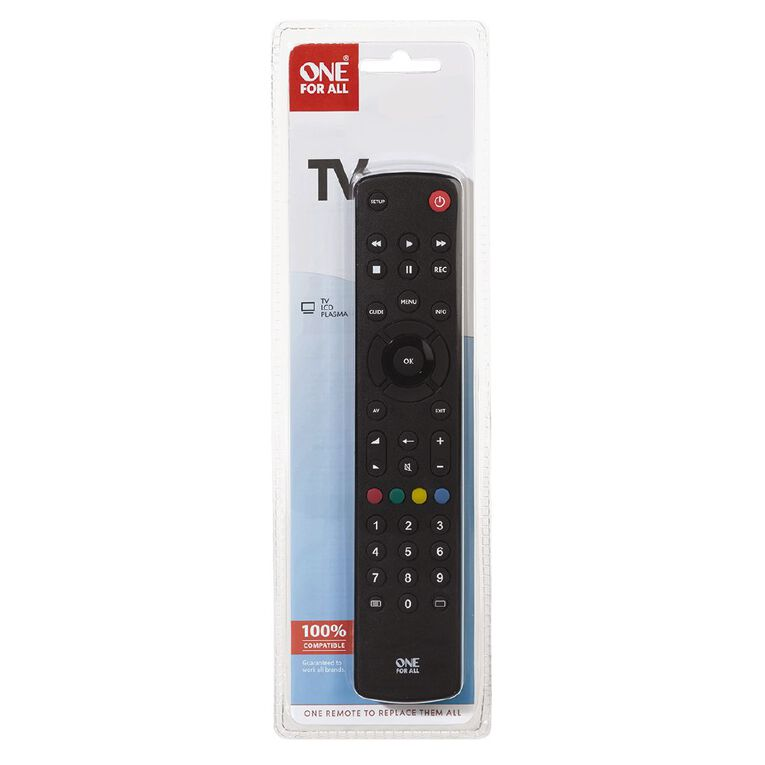 One for All Contour 1 Device Universal Remote URC1210, , hi-res