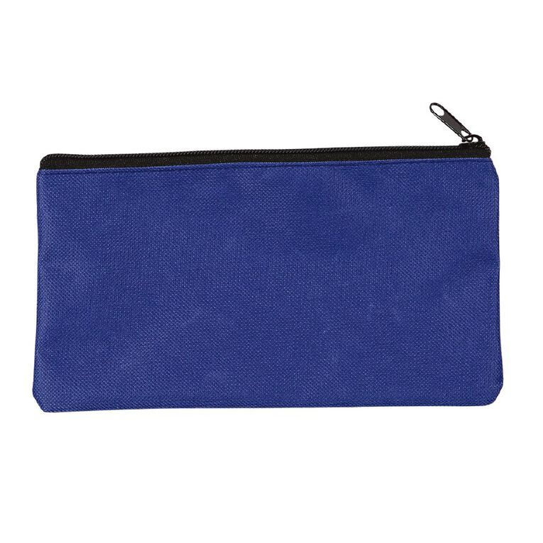 WS Pencil Case Flat Basic Blue, , hi-res image number null