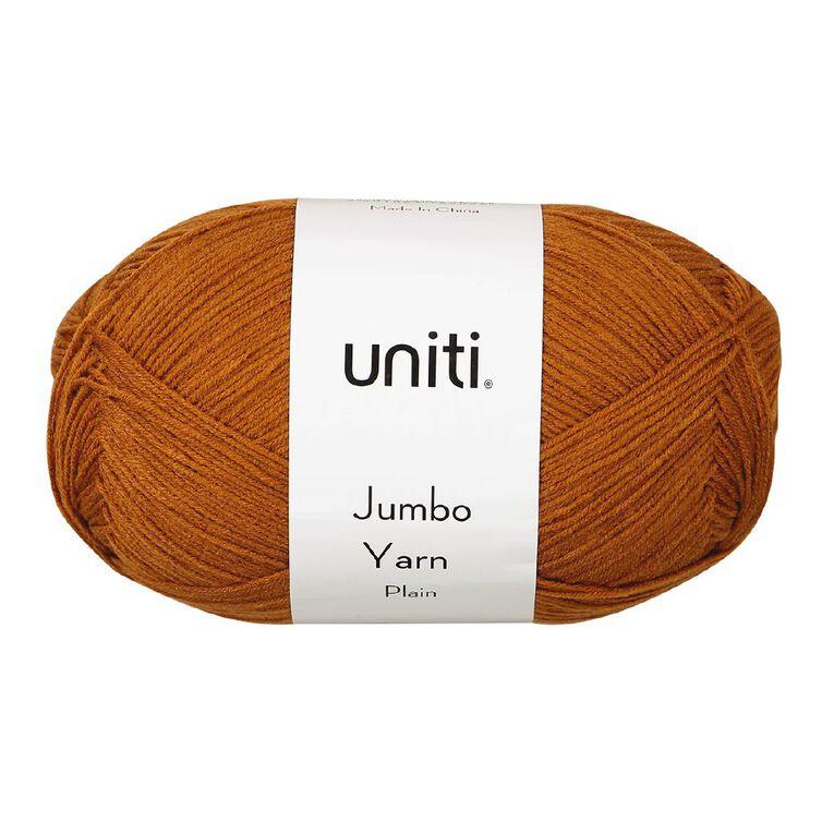Uniti Yarn Jumbo 8 Ply Rust 300g, , hi-res