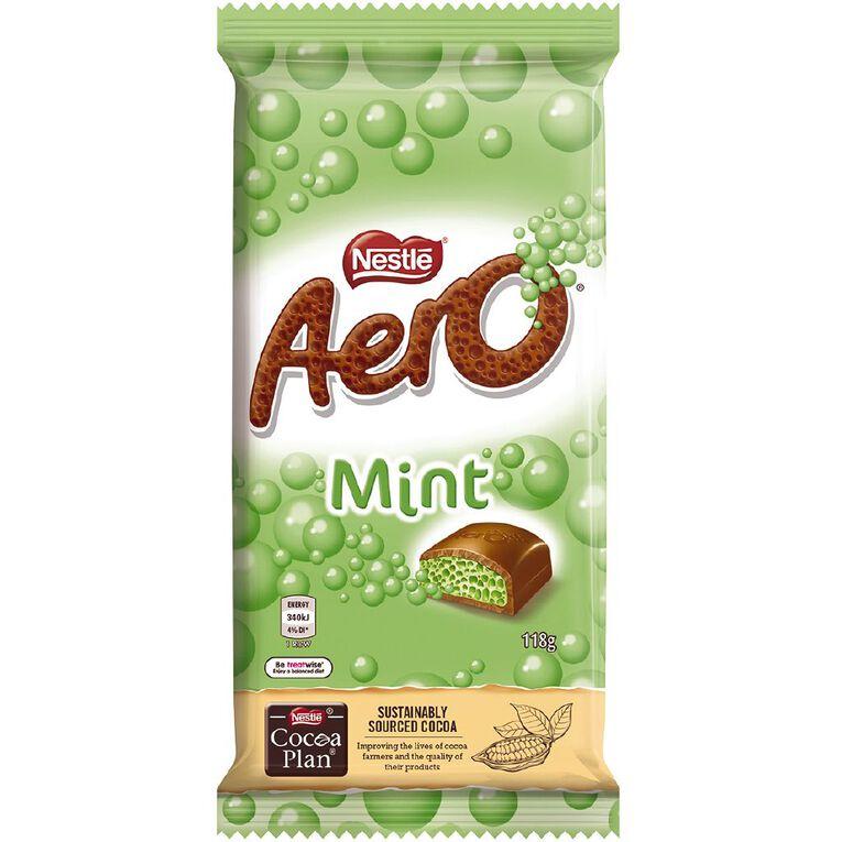 Nestle AERO PEPPERMINT BLOCK 118G, , hi-res