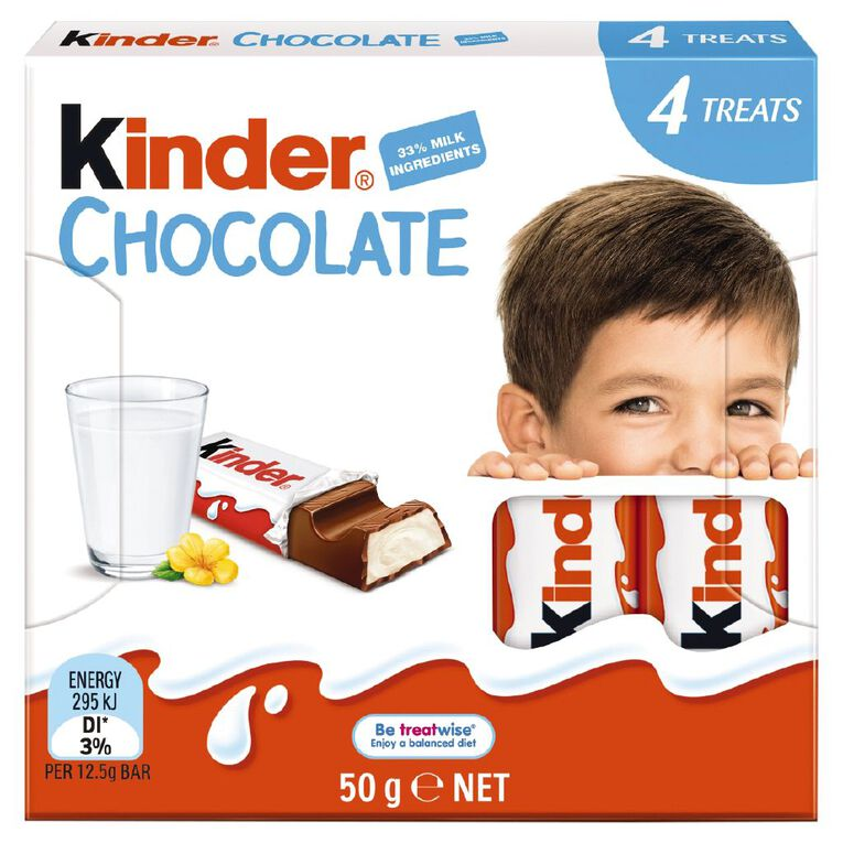 Kinder Chocolate T4 Littleones 50g, , hi-res