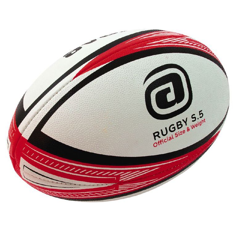 Avaro Rugby Multi-Coloured Size 5, Multi-Coloured, hi-res