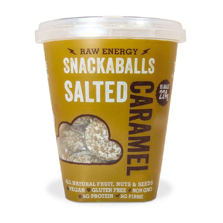 Tom & Luke Snackaballs Salted Caramel 224g, , hi-res