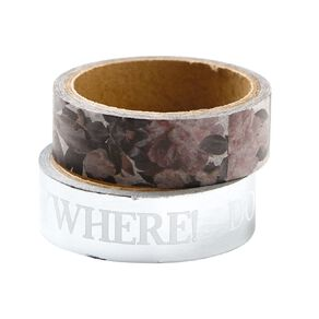 Uniti Floral Nights Washi Tape 2 Pack Be Kind