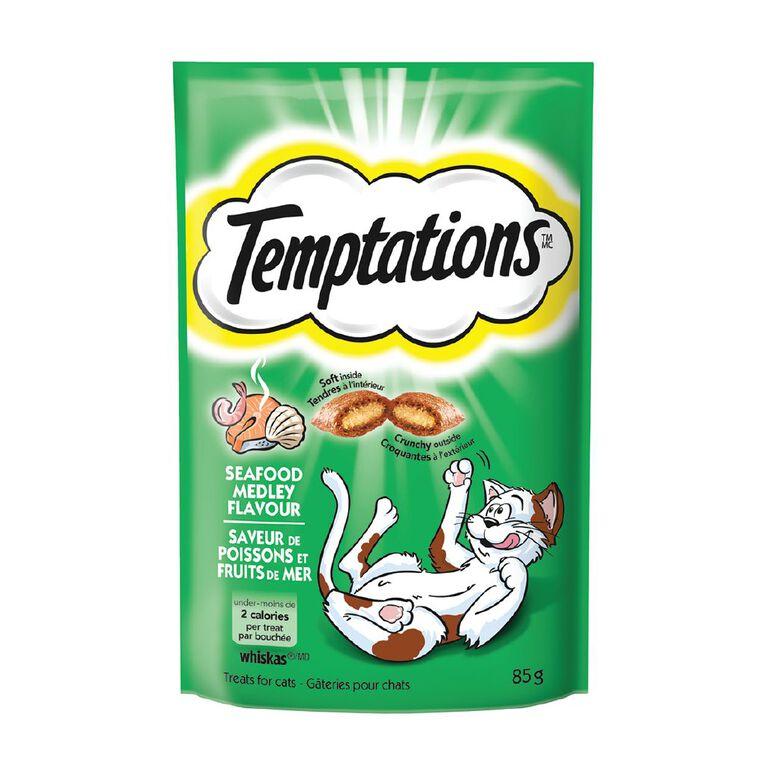 Temptations Temptations Seafood Medley Flavour 85g, , hi-res