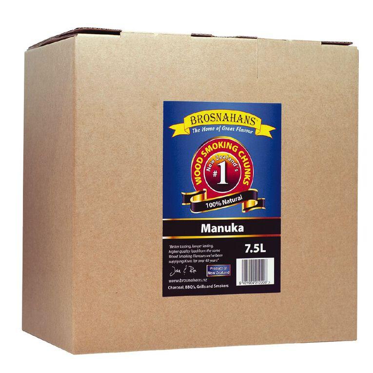 Brosnahans Manuka Wood Smoking Chunks Box - 7.5L, , hi-res