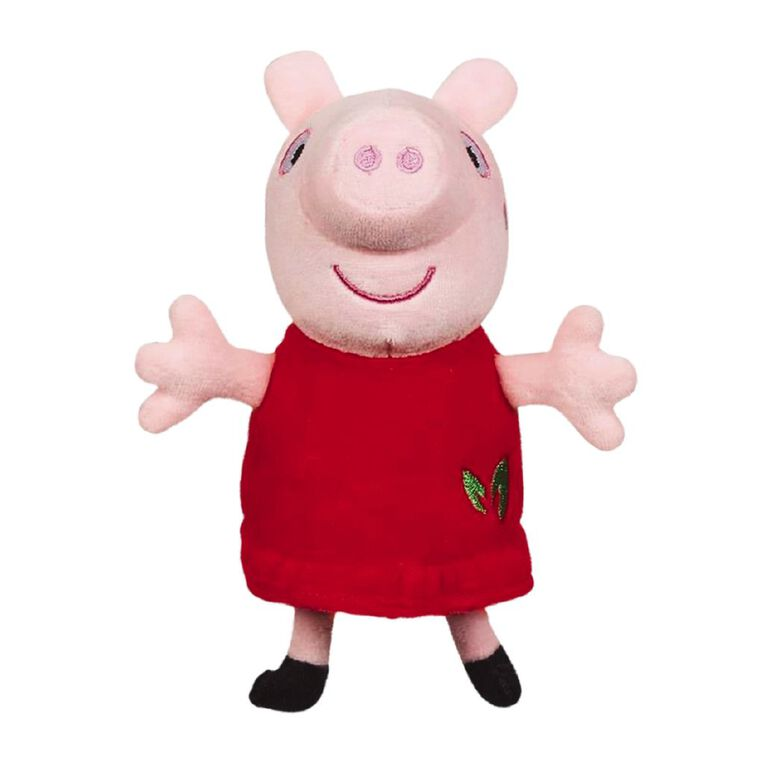 Peppa Pig Eco Plush Collectable 15cm Assorted, , hi-res