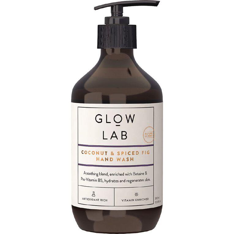 Glow Lab Hand Wash Pump Coconut & Spiced Fig 300ml, , hi-res