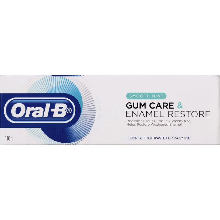 Oral-B Gum Care & Enamel Restore Smooth Mint Toothpaste 110g, , hi-res