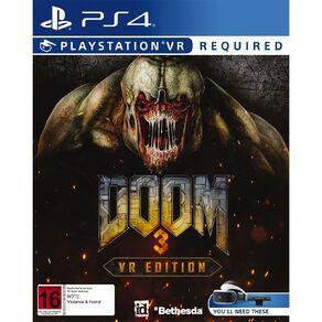 PS4 DOOM 3: VR Edition