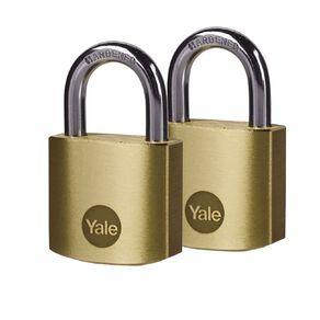 Yale Brass Padlock 30mm