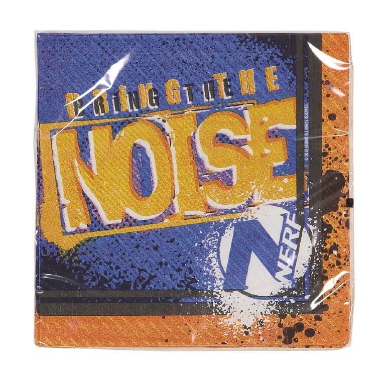 NERF Nerf Lunch Napkins 2ply 33cm 16 Pack 16 Pack, , hi-res