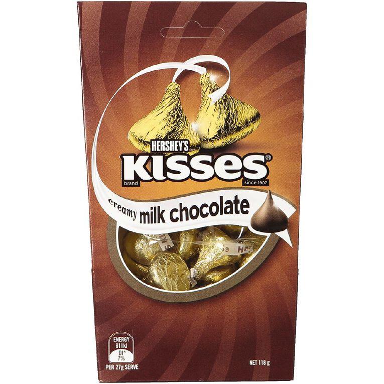 Hershey's Kisses Creamy Milk Box 118g, , hi-res