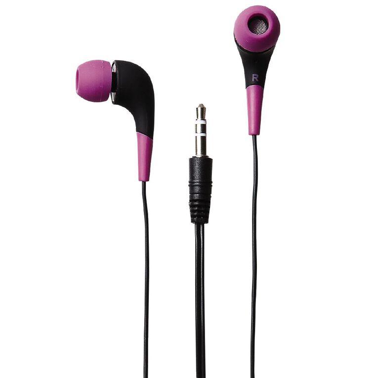 Tech.Inc In-Ear Earbuds Purple, , hi-res