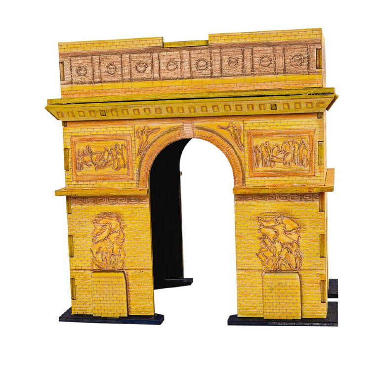 Incredibuilds Arc de Triomphe 3D Wooden Model, , hi-res