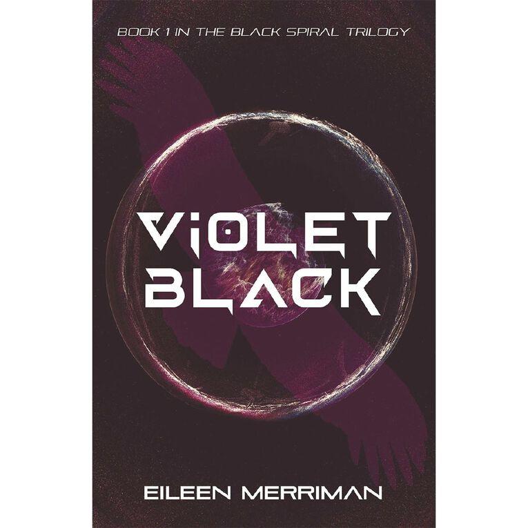 Black Spiral #1 Violet Black by Eileen Merriman, , hi-res