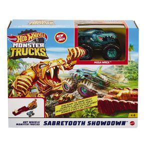 Hot Wheels Monster Trucks Animal Trackset Assorted