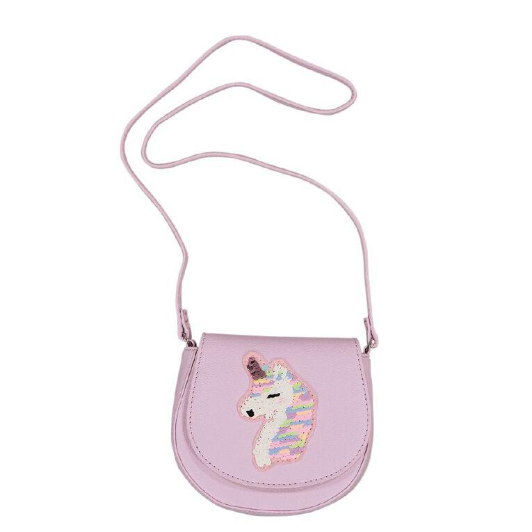 Young Original Kids' Unicorn Bag, Purple, hi-res