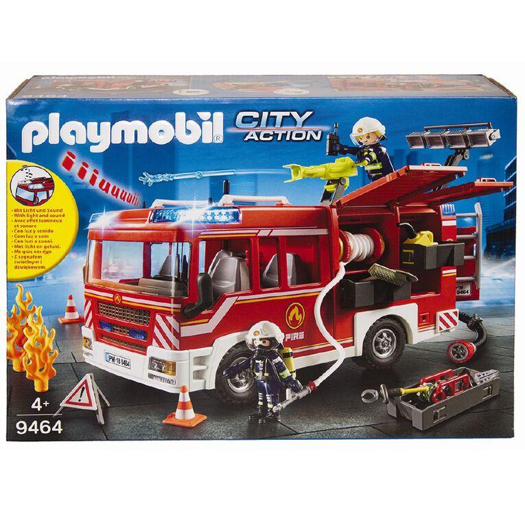 Playmobil Fire Engine, , hi-res