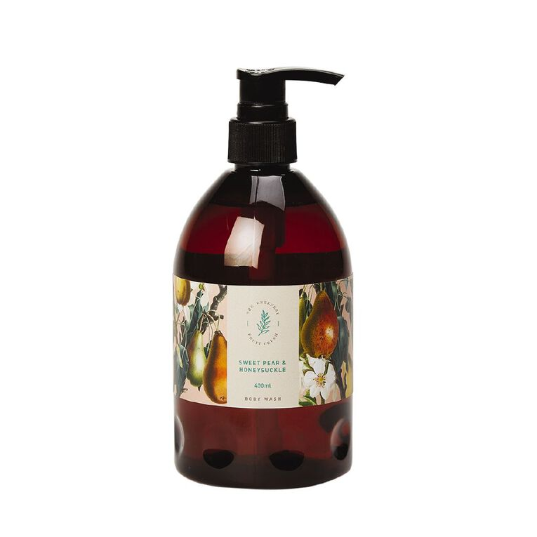 Winter Fruit Sweet Pear And Honey Suckle Body Wash 380ml, , hi-res