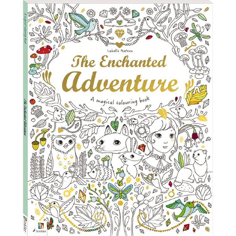 Magical Colouring Book: The Enchanted Adventure, , hi-res