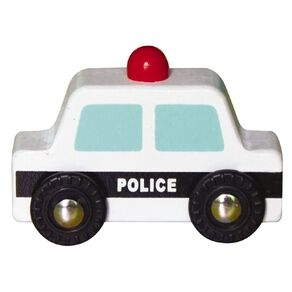 Play Studio Mini Wooden Vehicle Police