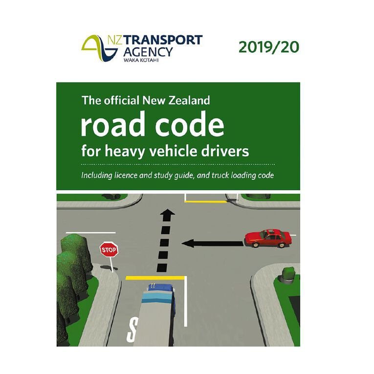 New Zealand Heavy Vehicle Road Code 2019/20 by NZ Transport Agency, , hi-res