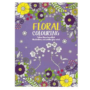 Floral Colouring Book