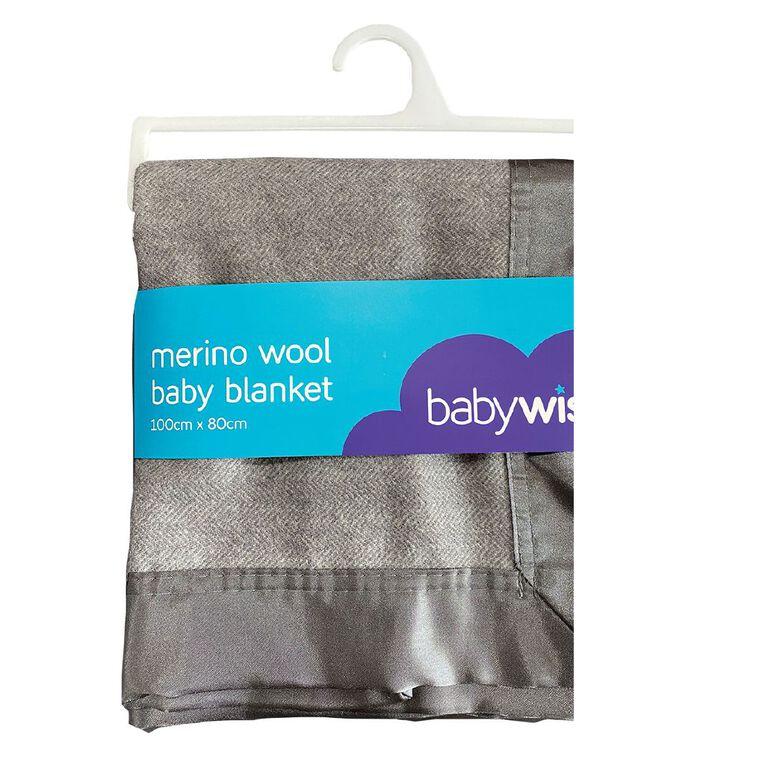 Babywise Merino Wool Baby Blanket, , hi-res