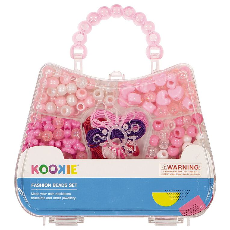 Kookie Beads Set with Handle Multi-Coloured, , hi-res