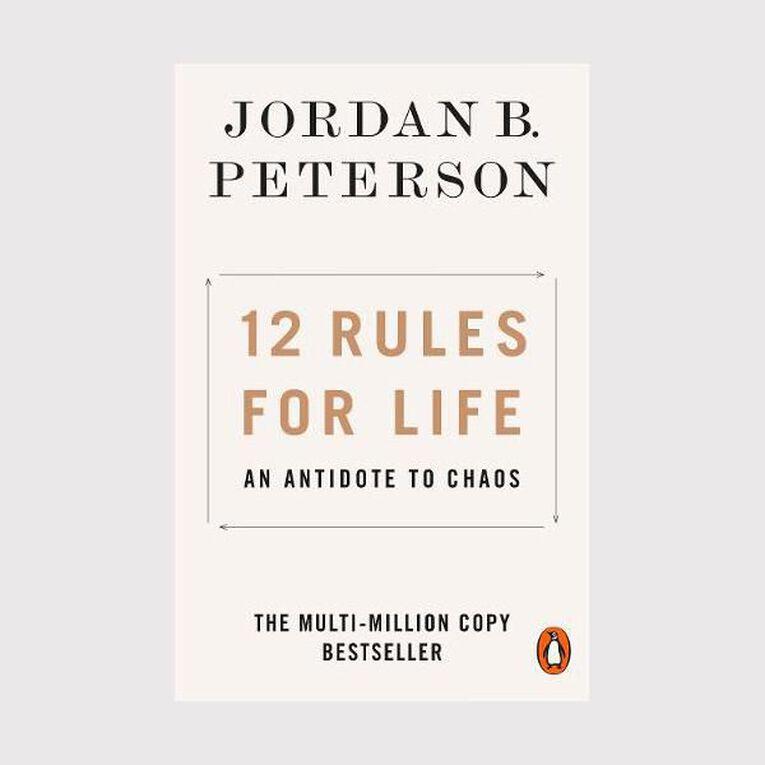 12 Rules for Life by Jordan B Peterson, , hi-res