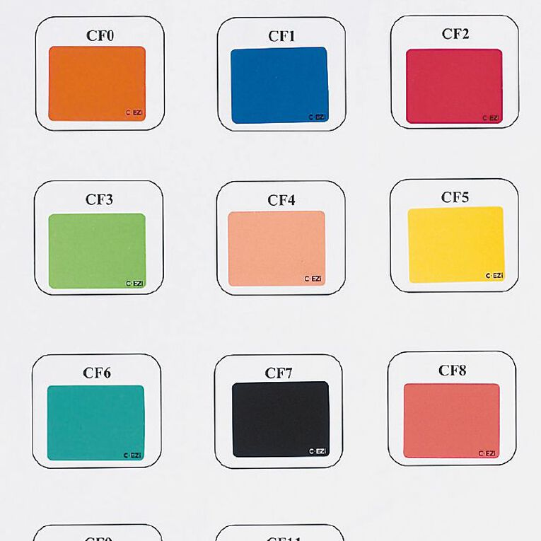 Filecorp Coloured Labels Z Multi-Coloured, , hi-res