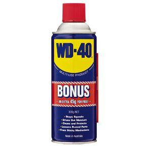 WD-40 255G Bonus Can 300g