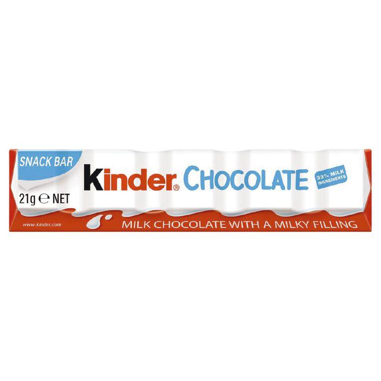 Kinder Chocolate T1 21g, , hi-res