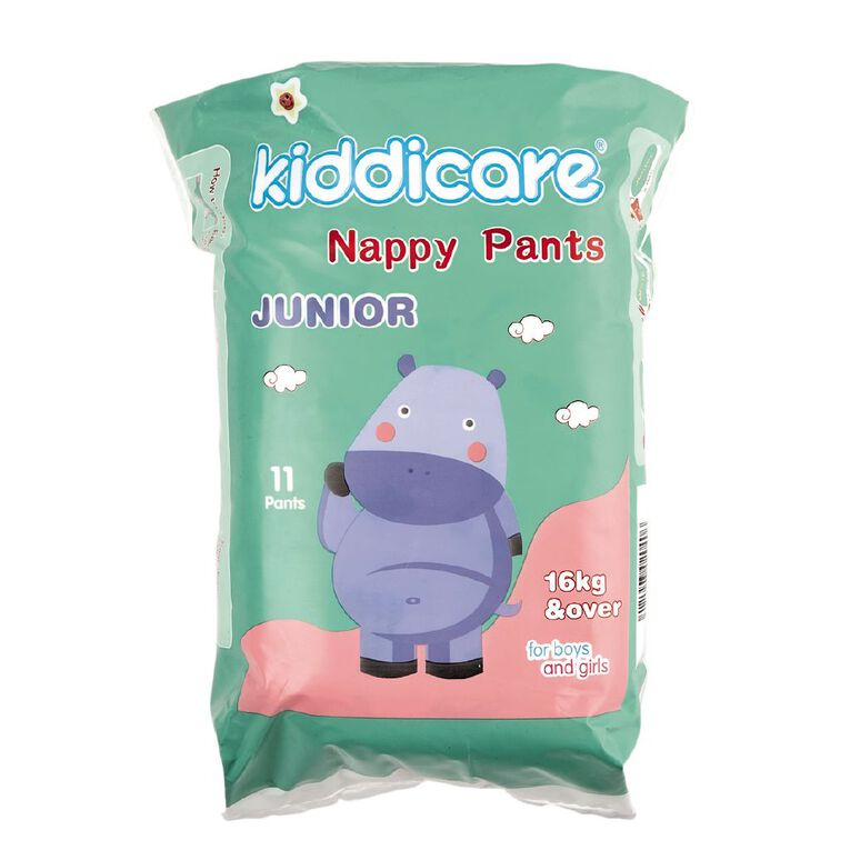 Kiddicare Convenience Size Nappy Pants Junior 11s, , hi-res