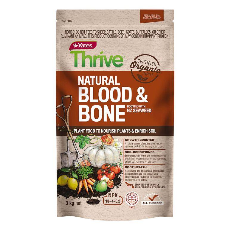 Yates Thrive Blood And Bone 3kg, , hi-res