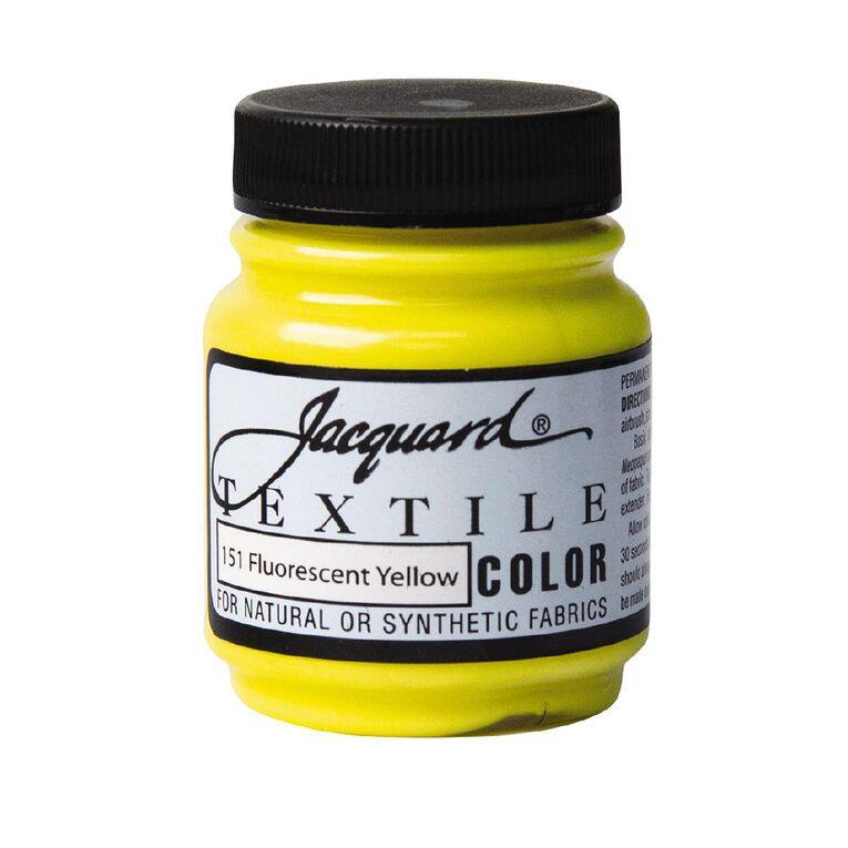 Jacquard Textile Colours 66.54ml Fluorescent Yellow, , hi-res